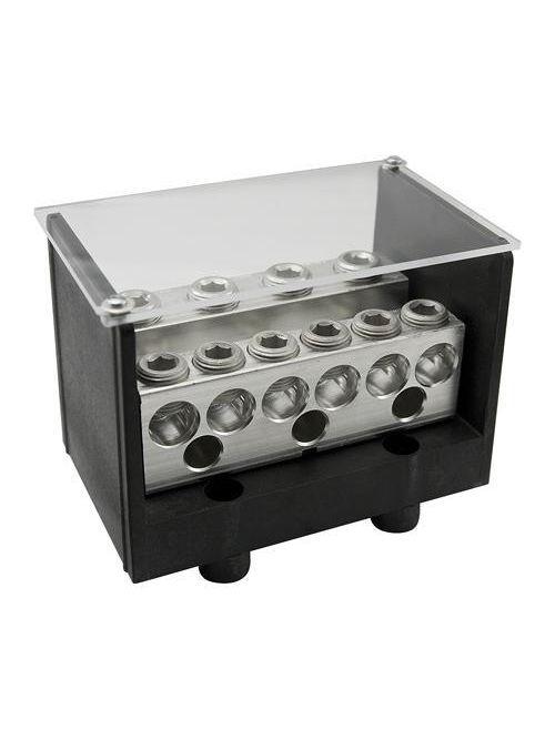 ILSCO PDB-22-350-1 620 Amp 600 Volt 6 AWG to 350 MCM Electrotinned Aluminum Alloy Power Distribution Block
