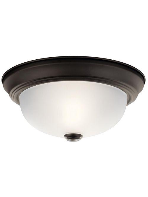 Kichler 8111OZ 2-Light Flush Mount Lighting Fixture