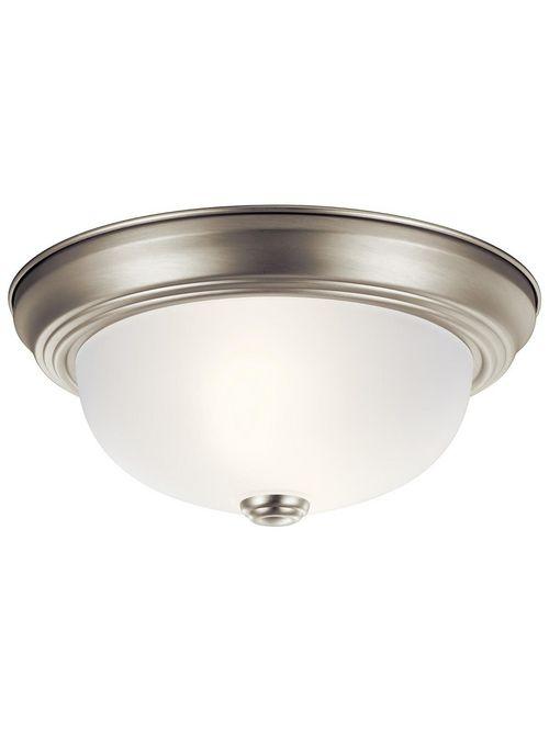 Kichler 8111NI 2-Light Flush Mount Lighting Fixture