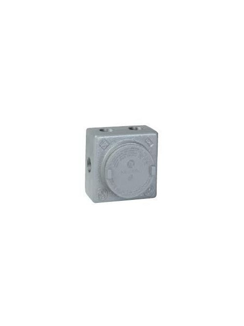 Hubbell Electrical Systems GRSS-2M 3/4 Inch Hub 3-1/8 Inch Cover Opening Iron Type GRSS Outlet Box
