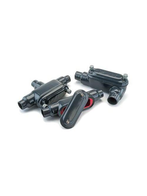 Plasi-Bond PR370 1 Inch Form7 Ferrous Metal Screw Wedge Clip Conduit Body Cover