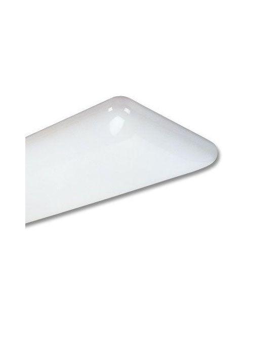 Lithonia Lighting 10640 32 GEB 1 x 4 Foot 2-Lamp 32 W 120 to 277 Volt T8 Linear Fluorescent Decorative Wraparound Light Fixture