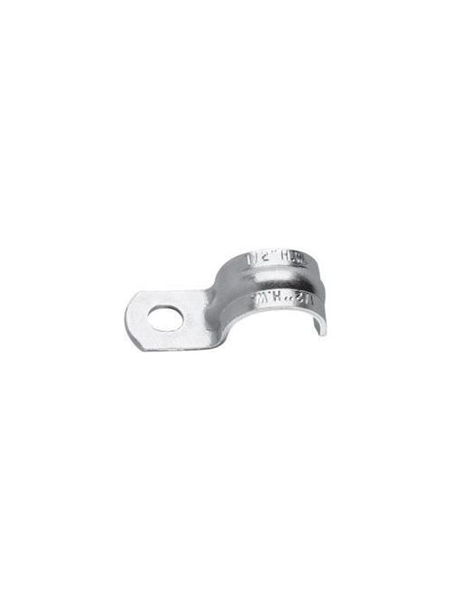 Crouse-Hinds Series 414 1-1/2 Inch Steel 1-Hole Snap-On Rigid Conduit Clamp