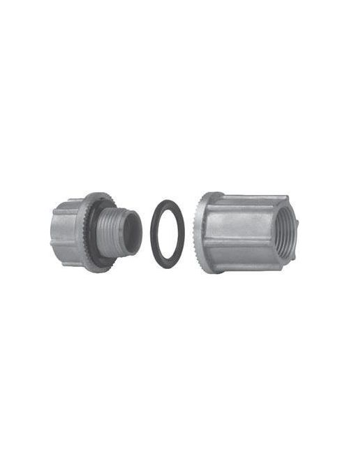 Crouse-Hinds Series STTTBA 1-1/2 Inch Aluminum Through Bulkhead Conduit Hub