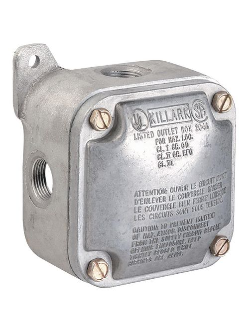 "KLRK JALX-2 3/4"" ALUM X TYPE BOX ON"