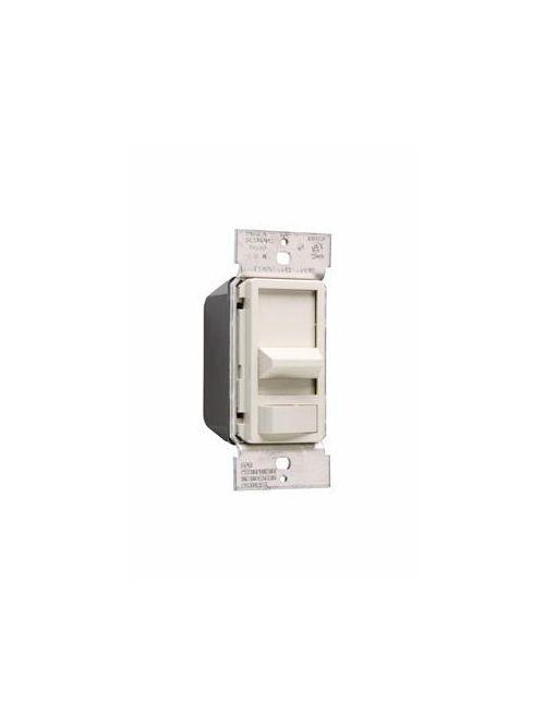 Wattstopper 90680LA 600 W 120 Volt 1-Pole Light Almond Incandescent Slide with Preset On/Off Dimmer