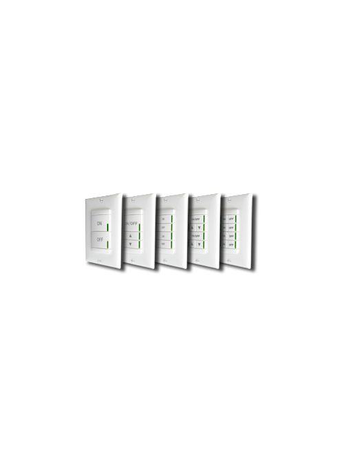 Sensory Switch SPODM 2P 2SA WH 12 to 24 VAC/VDC 5 mA 2-Pole 2 Switch White Switchpod