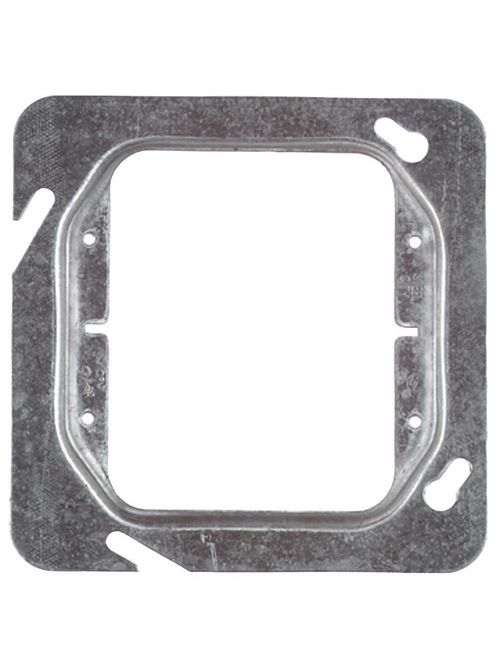 "Steel City 72C16 4-11/16"" Steel Square Box Device Cover, 1-1/4"" Raised, 8.3 cu.in."
