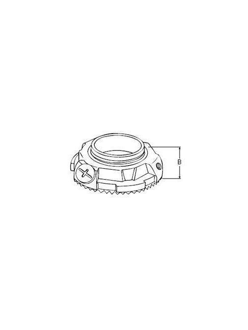 Thomas & Betts L150GRA-TB 1-1/2 Inch Aluminum Ground Locknut