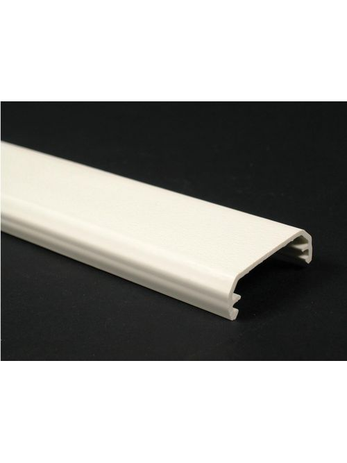 Wiremold NM2000C 8 Foot x 1-3/4 Inch Ivory Non-Metallic 1-Channel Raceway Cover