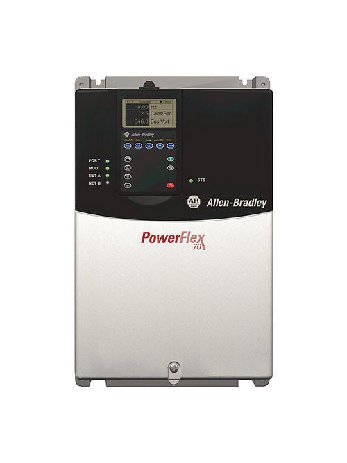 Allen-Bradley 20AD022A3AYNANC0 Powerflex 70 22 Amp 15 Hp AC Drive