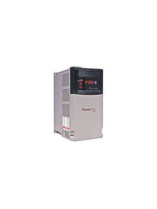 Allen Bradley E22DD010N104/A 480 VAC 3-Phase 10.5 Amp 5 Hp Open Type Adjustable Frequency AC Drive
