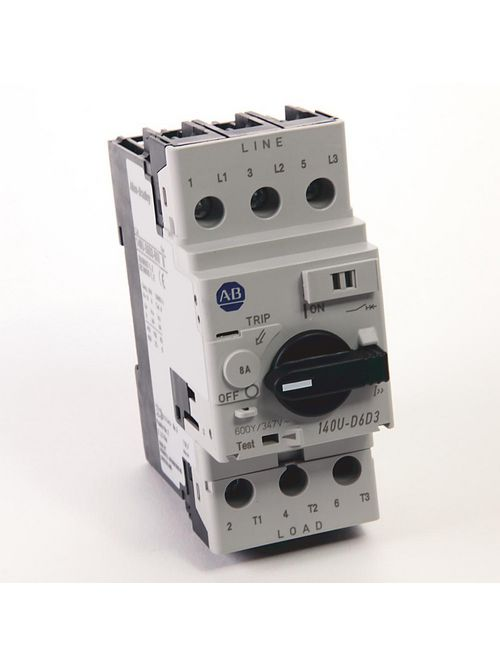 Allen Bradley 140U-D6D3-B80 8 Amp Circuit Breaker