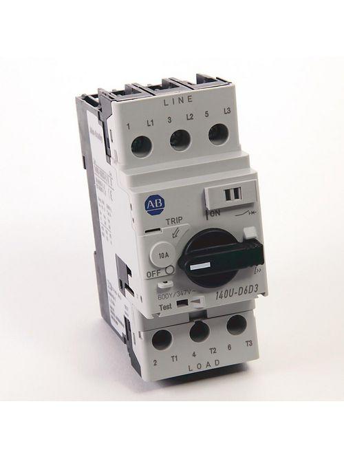 Allen Bradley 140U-D6D3-C30 UL 489 30 Amp 3-Pole Circuit Breaker