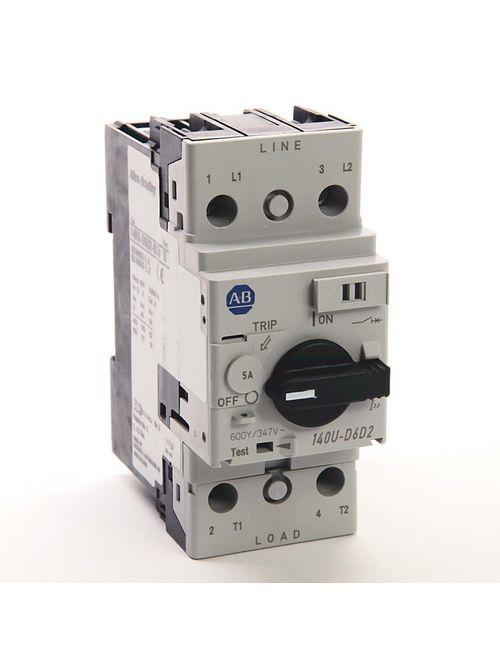 Allen Bradley 140U-D6D2-B50 5 Amp Circuit Breaker