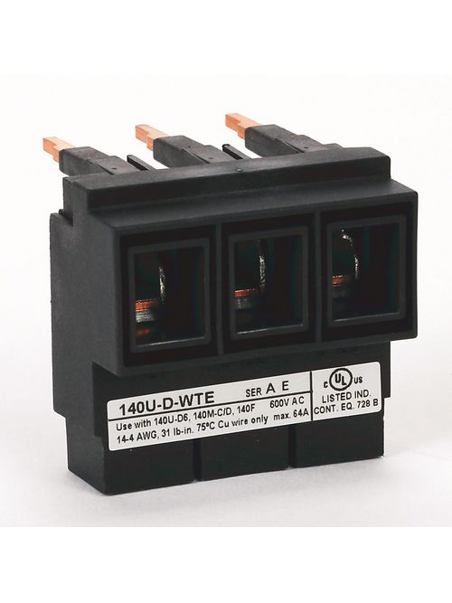 Allen Bradley 140U-D-WTE Circuit Breaker Compact Busbar Feeder Terminal