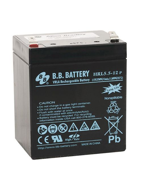 Allen Bradley 1609-HBAT 12 VDC High Temperature UPS Battery