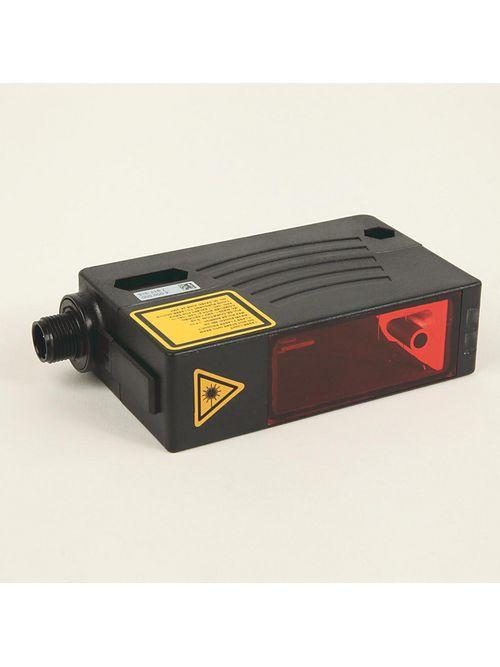 Allen Bradley 45LMS-D8LGC2-D4 10 to 30 VDC 70 mA NPN/PNP Dark/Light Standard Diffuse Laser Measurement Sensor