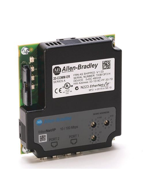 Allen-Bradley 20-COMM-ER Dual-Port Ethernet/IP Adapter