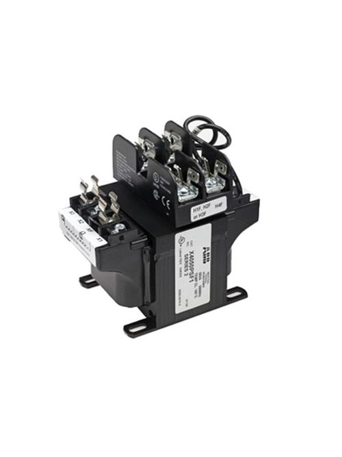 Thomas & Betts X4500PSF1 500 VA 20.84/4.35 Amp Output 6-Terminal Control Circuit Transformer