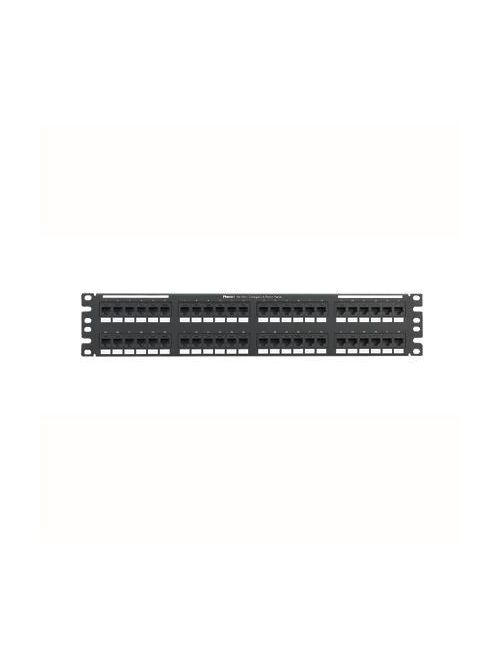 Panduit NK6PPG48Y Cat 6 110 Style 48-Port Patch Panel with Universal Wiring