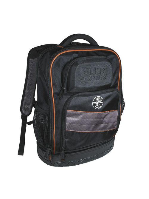 Klein 55456BPL 14 x 7 x 18.25 Inch 25-Pocket Tech Backpack Electrician Tool Bag