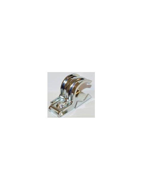 "Bridgeport UCS-5075 1/2"" - 3/4"" Universal 1pc Clamp Back & Strap Combination, 1-hole, Steel"