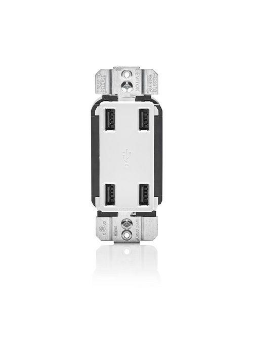 LEV USB4P-W 4 PORT USB DEVICE_WHITE