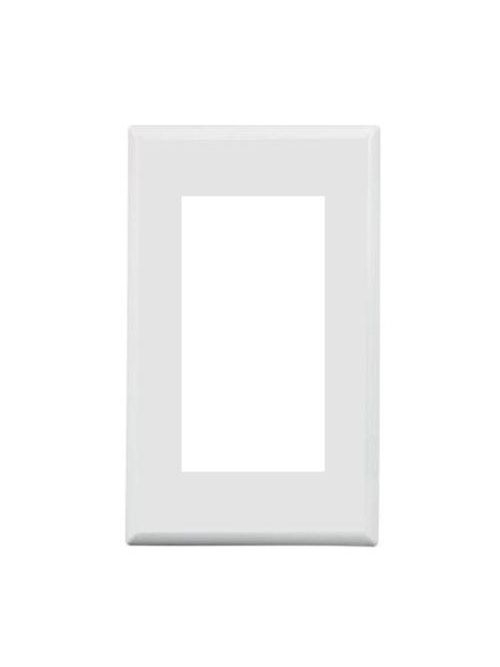 TPI 4300PW Wall Plate Adaptor, Whit