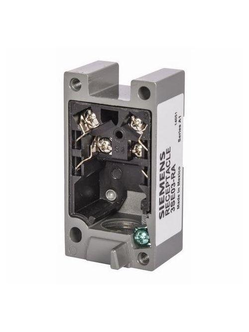 Siemens Industry 3SE03-RA 600 VAC/300 VDC 10 Amp 1NO 1NC Zinc Die-Cast Metal Plug-In Modular Limit Switch