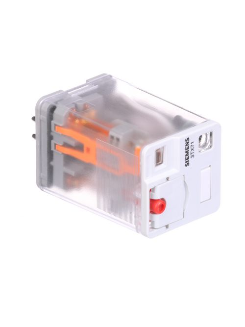 Siemens Industry 3TX7112-1LG13 220/230 VAC 16 Amp DPDT Plug-In Relay