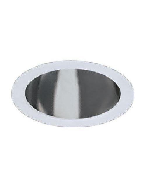 Hubbell Lighting 6CFV Alzak 6 Inch Vertical 1-Lamp Clear Compact Fluorescent Trim