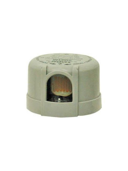 Tork 5004S 208/277 VAC 2080 to 2770 W Tungsten Maroon SPST Thermal Turn-Lock Surge Arrester Photocontrol