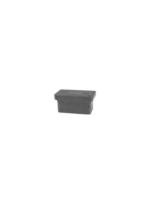 Quazite PG1730HA0012 17 x 30 Inch Gray Polymer Concrete Heavy Duty Underground Enclosure Cover