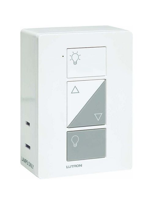 Lutron Electronics PD-3PCL-WH 300 W 120 Volt White Plug-In Lamp Dimmer