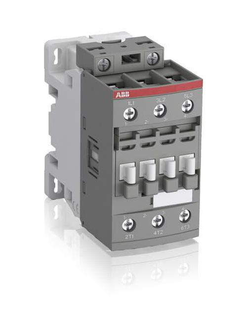 Thomas & Betts AF30-30-00-11 24 to 60 VAC 20 to 60 VDC 50 Amp 3-Pole Non-Reversing Contactor