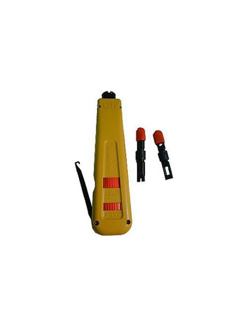 FLUKE NETWORKS 10051501 D914 PUNCHDOWN TOOL W/ 66 110 AND FREE BLADE