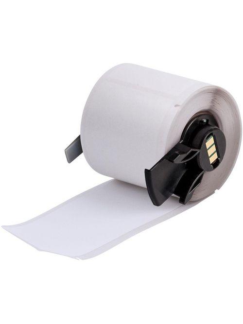 Brady PTL-38-489 4 x 1.9 Inch White Polyester Portable Printer Label