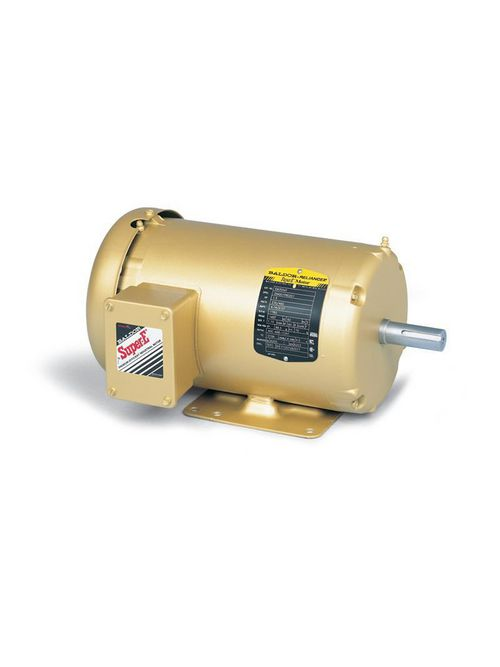 Baldor Electric EM3558T 230/460 Volt 2 Hp 3-Phase 60 Hz 1755 RPM TEFC F1 AC Induction Motor