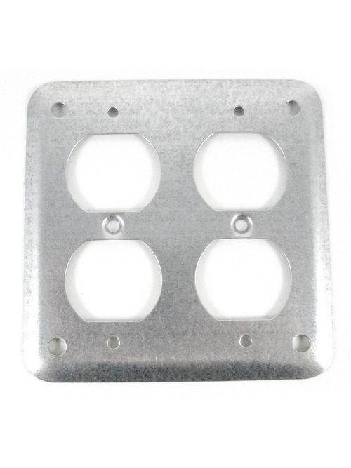 Steel City 472-NEC 4 Inch Square Device Raised Cover