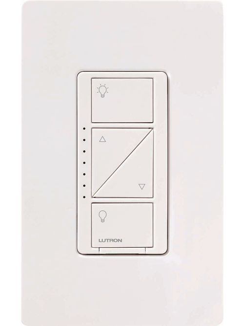 Lutron Electronics PD-6WCL-BL 600 W 120 Volt Black 1-Pole/Multi-Location Lamp Dimmer