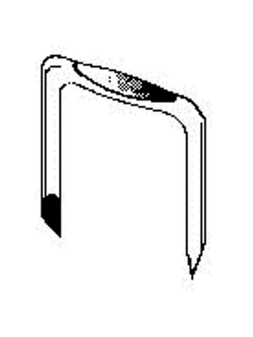 Minerallac I10HR 1 x 1/2 Inch 2-Conductor Heavy Duty Non-Insulated Metal Cable Staple