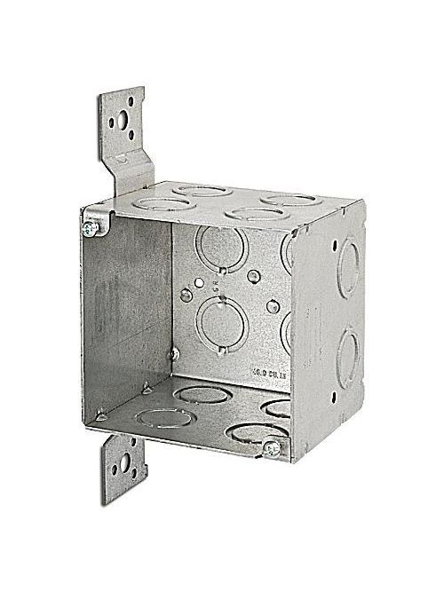 Steel City 521911234CV 4 x 3-1/2 Inch 46 In Steel Welded Square Outlet Box