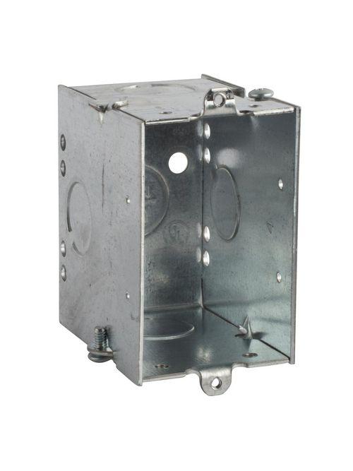 Steel City CWLE1/2-25 3 x 2 Inch 14 In Steel Welded Switch Box