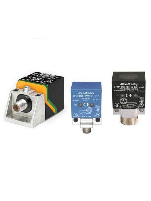 A-B 871P-DB25NP40-D4 Rectangular Inductive Sensor