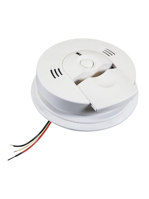 Kidde Home Safety 21006377-N 85 dB 120 Volt 9 Volt Battery Ionization/Electrochemical AC Wire-In Carbon Monoxide/Smoke Alarm