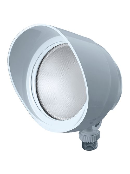 RAB BULLET12YW 12 W 120 Volt 4-3/4 x 4-1/2 Inch Warm White Die-Cast Aluminum LED Floodlight Fixture