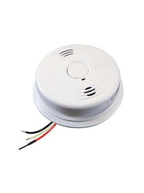 Kidde Home Safety 21010408-N 85 dB 120 Volt Ionization/Electrochemical AC Wire-In Carbon Monoxide/Smoke Alarm