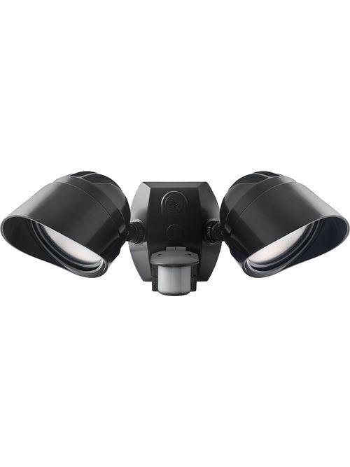 RAB SMSBULLET2X12NA 2 x 12 W 120 Volt 14-1/2 x 6 Inch Neutral Bronze Die-Cast Aluminum LED Floodlight Fixture
