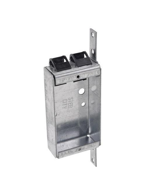 Steel City SSQV 3-3/4 x 2 x 1 Inch 6.5 In Pre-Galvanized Steel Welded Switch Box